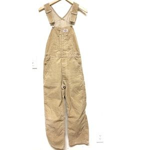 Vintage Dickies Corduroy Carpenter Overalls 31